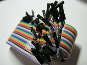 Rainbow dupont flatcable